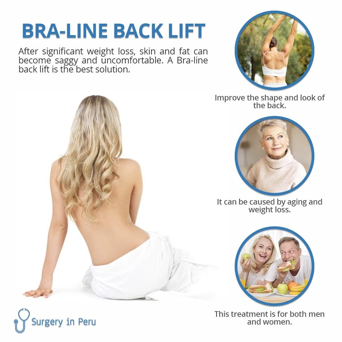 bra line back lift