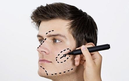 perfilado facial