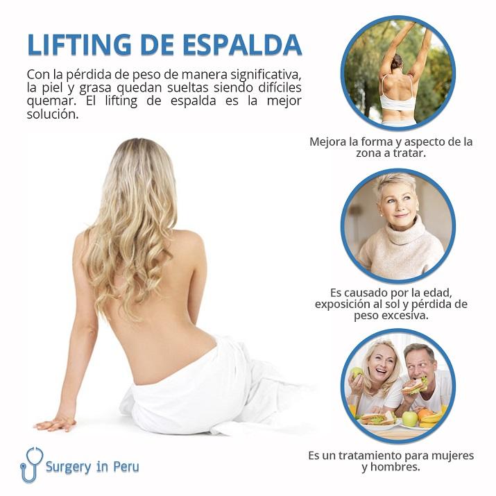 lifting de espalda lima